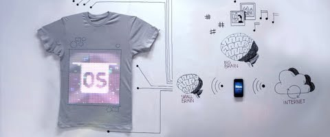 tshirtOS :: The world's first programmable t-shirt by ballantines
