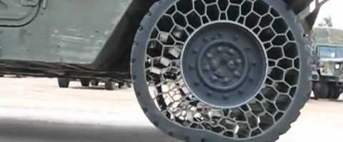 Cool new army tire technology by Kuuey