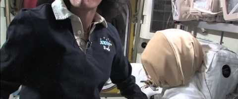 Departing Space Station Commander Provides Tour of Orbital Laboratory by NASAtelevision