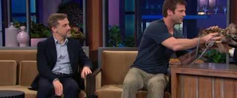Christoph Waltz On Jay Leno with Animals Part 2 of 2 by Divya Saxena