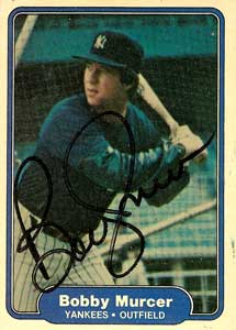 Bobby Murcer True NY Yankke star