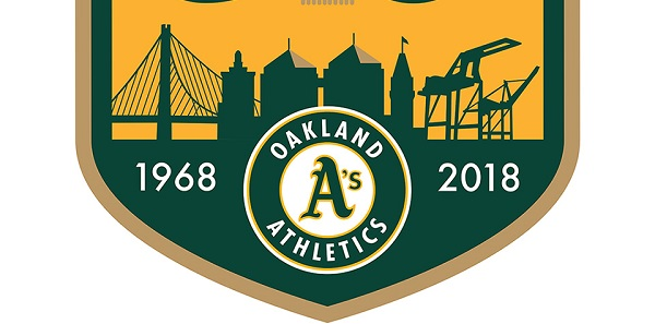 The Oakland Athletics Have Unveiled Their 50th Anniversary Logo