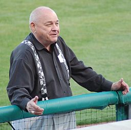 Here's the former A.L. ump in 2007, as a VP of the Arkansas Travelers minor league team. By michael cossey from North Little Rock, Arkansas, United States of America (The Man Himself) [CC BY-SA 2.0 (http://creativecommons.org/licenses/by-sa/2.0)], via Wikimedia Commons