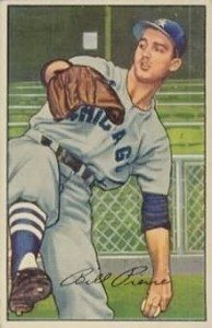 """Even in the 1950s, the hurler didn't embrace """"Billy' in his autograph."""