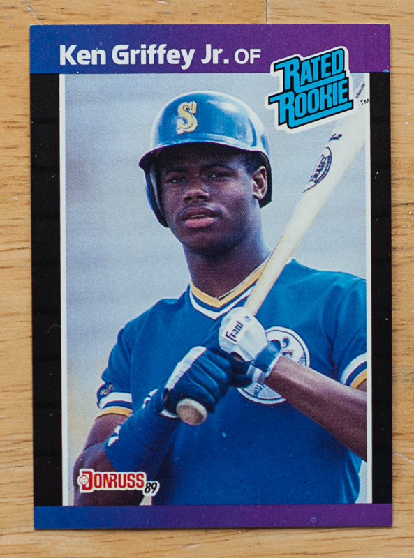 1989 Ken Griffey Jr Rookie Pack Break Baseball Cards Of