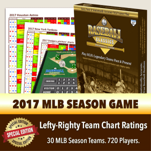 BC shop products 2017 Season TC Boxed Game