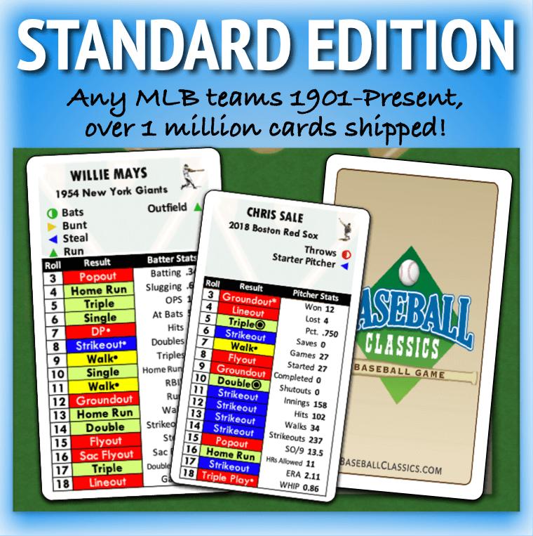 Baseball Classics Standard Edition