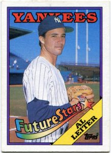 Al -ahem, Mark - Leiter. 1988 Topps via Baseball Dime Box blog.