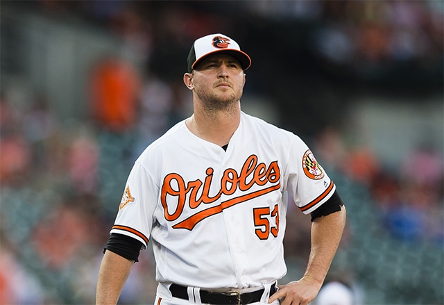 Orioles closer Britton suffers torn Achilles