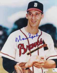 The Great Braves Pitcher Warren Spahn