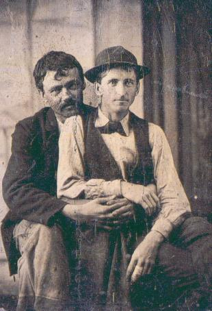 Valentine's Couple, 1870s