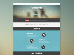 One page web sites and SEO