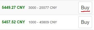 Buying Bitcoin in China