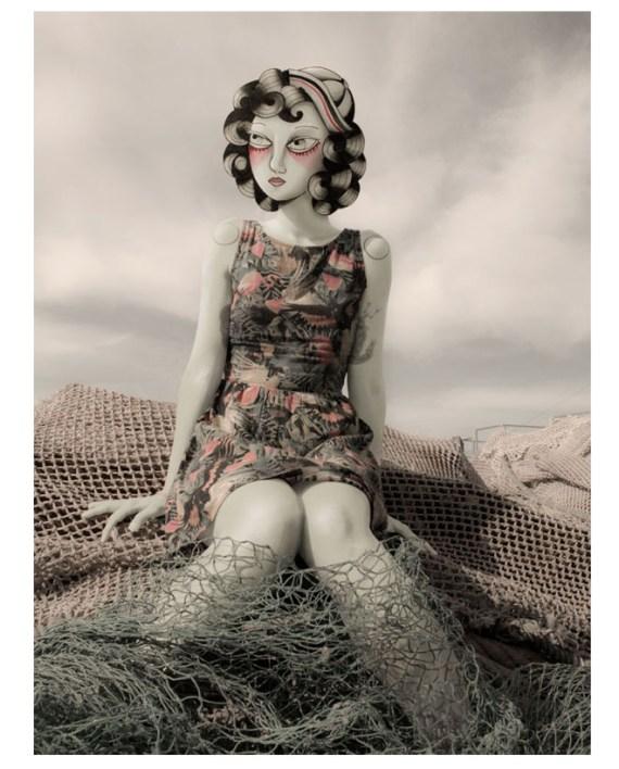 Adriana Maluquer portrait by Justin Case