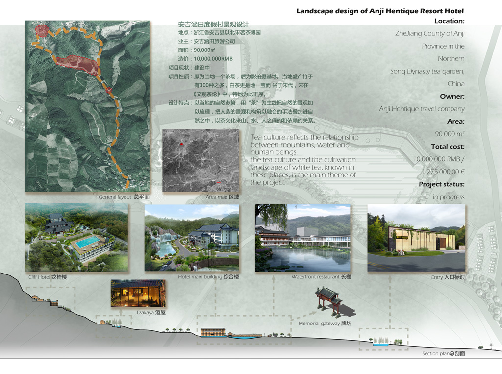 Landscape design project- chinaBe