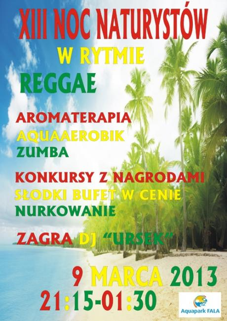XIII Noc Naturystów w rytmie reggae