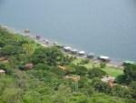 Huizen van de rijkere El Salvadoreanen