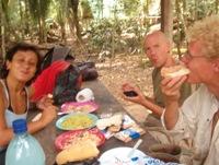 Picknicken bij Las Conchas