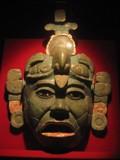 Maya masker van Jade