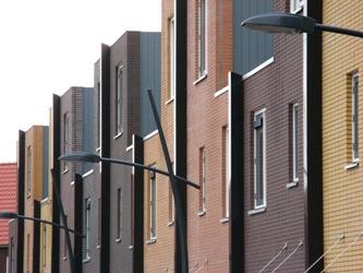 De wijk Vertikaal in Saendelft