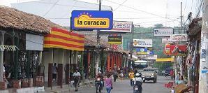 Straatbeeld Chalatenango