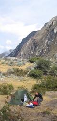 Kamperen in de bergen