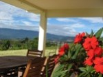 The balcony of the house of friends in Paraiso, not bad to stay!