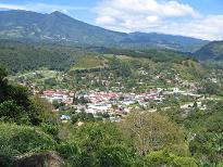Uitzicht over Boquete