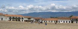 Het grootste plein van Colombia, 120x120m in Villa De Leyva