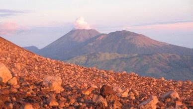 UItzicht vanaf Vulkaan Telika