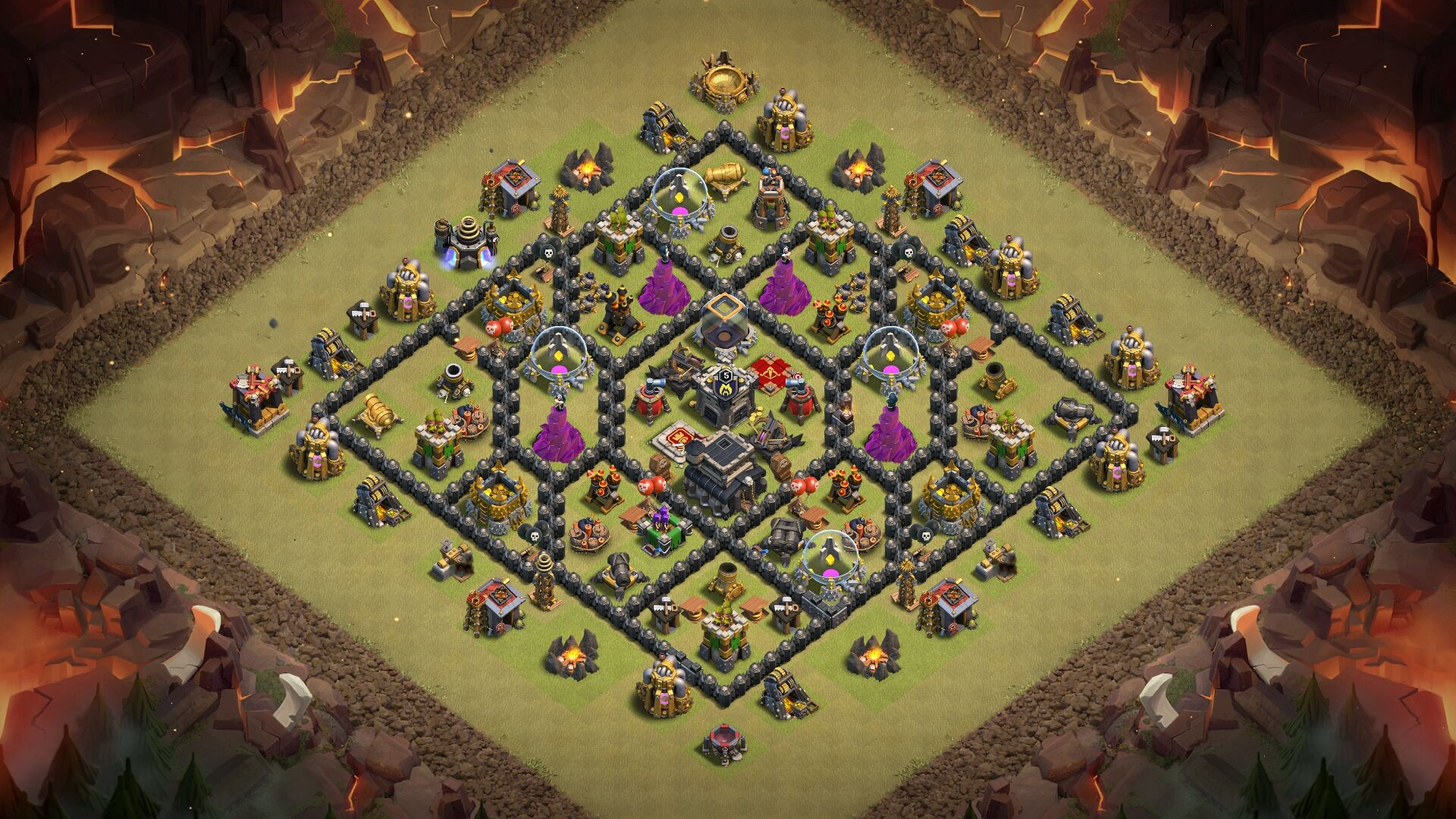 Clash Clans Wizard King