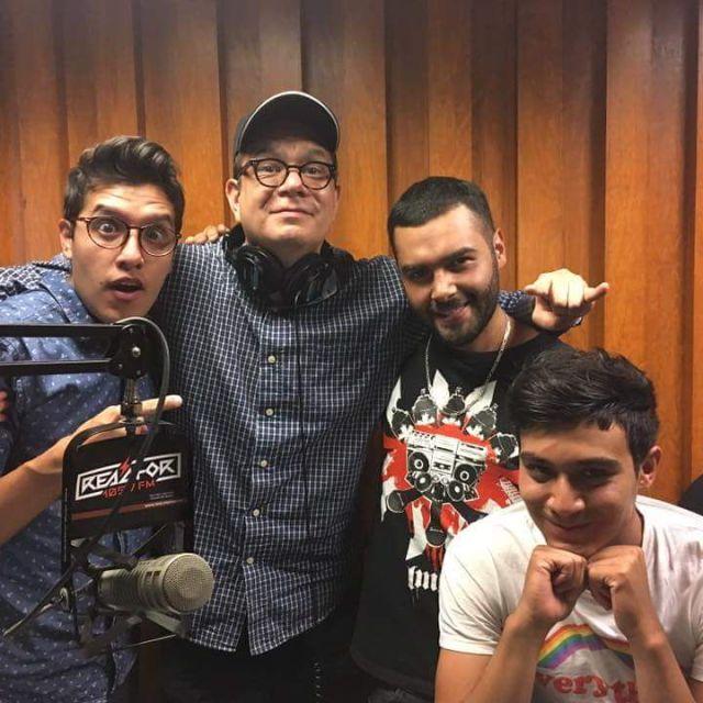 George Orlando Miguel chamacos equipo radio reactor105 Un placer!
