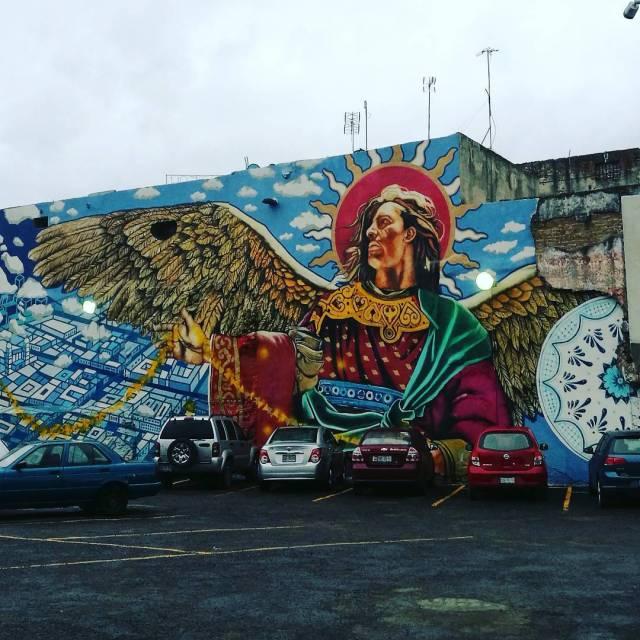 Angeles puebla streetart