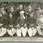 The Pathan Students of T.I. College, Lahore, 1950