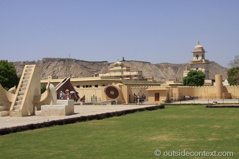 The ancient observatory of Jaipur