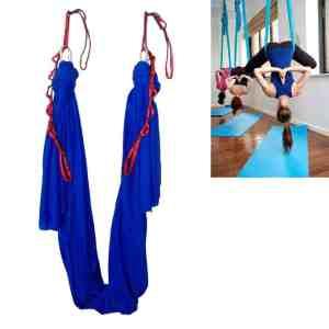 wellsem Aerial Yoga Hammock 5.5 Yards Aerial Pilates Silk Yoga Swing Set review
