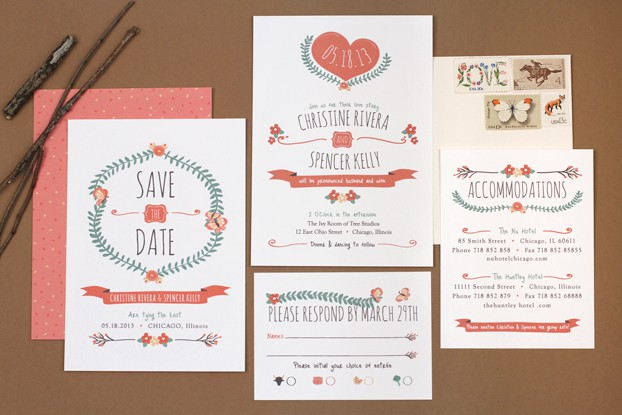 Fun Sts For Wedding Invitations