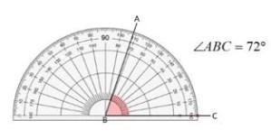 ts vi class measure of angle 72 degrees