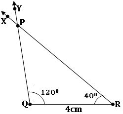 TS VII Maths Construction of Triangles 12