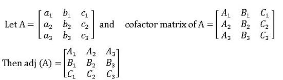 adjoint of matrix 2