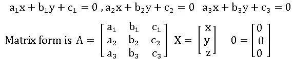 hogenious equations