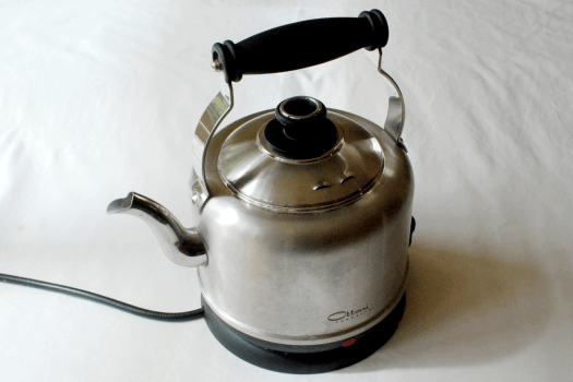 stainless steel kettle plastic-free