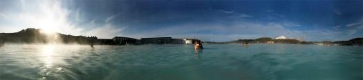 blue lagoon at 4pm - Iceland holiday tips