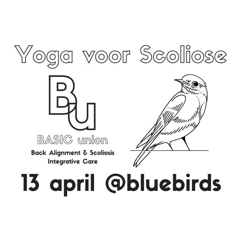 Yoga voor Scoliose bij Bluebirds