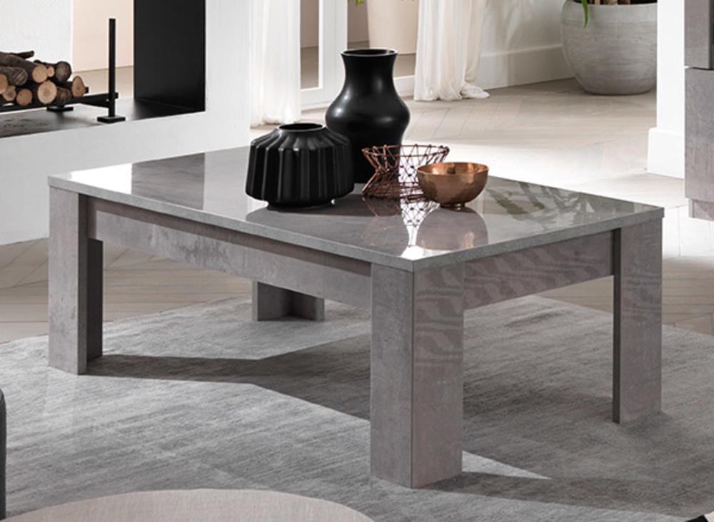 table basse greta laque gris beton