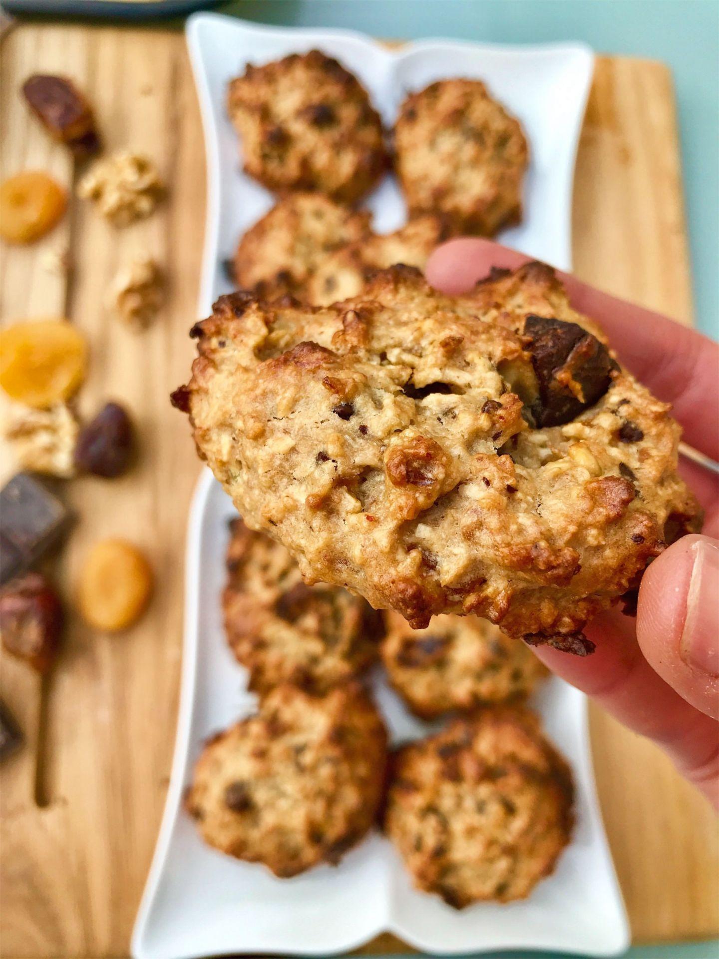 vegan granola cookies