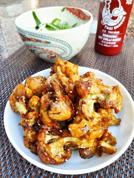 korean cauliflower wings recipe