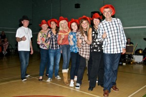 Dancers Give the Barn Dance the Thumbs Up