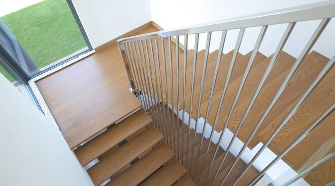 Le ringhiere in legno per terrazzi e balconi anche di palazzi, sono progettate appositamente per realizzare un'area. Tre Dettagli Da Considerare Nella Scelta Delle Ringhiere Moderne Per Le Scale Basilicata24