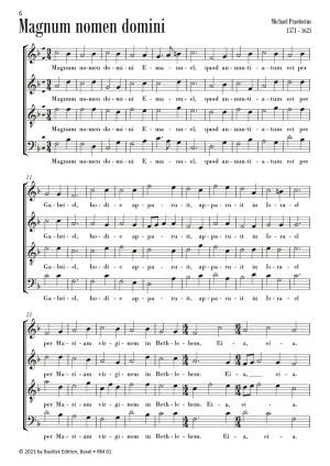 Weihnachtsmusik Beispielseite